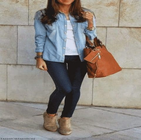 10 Different Ways to Wear Shirts | Learn Cute Ways to Wear a Shirt