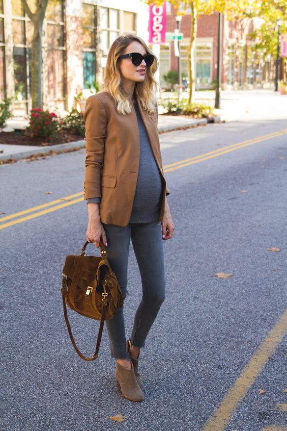 formal look fashion for pregnancy