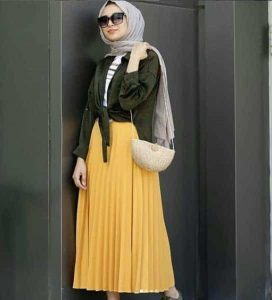 How to wear decent outfits suitable for your hijab in a casual and elegant style