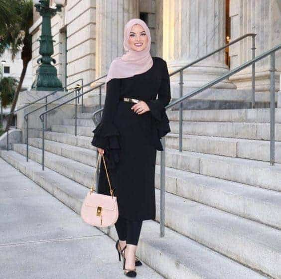 outfit idea for women with hijab
