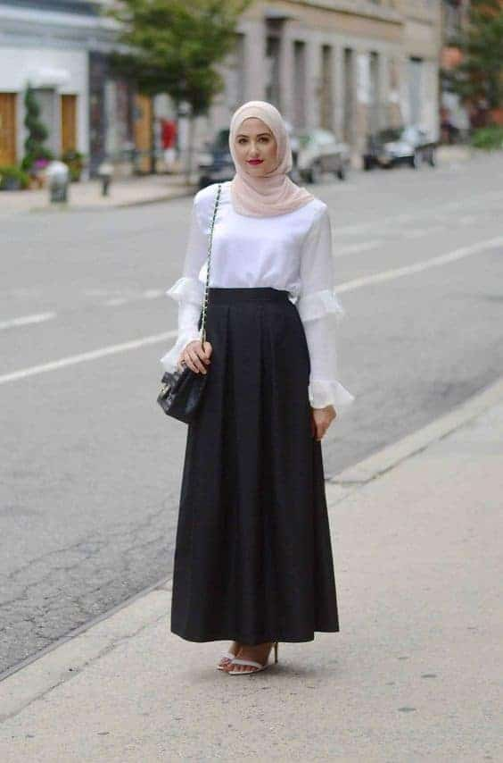 women with hijab interview outfit ideas