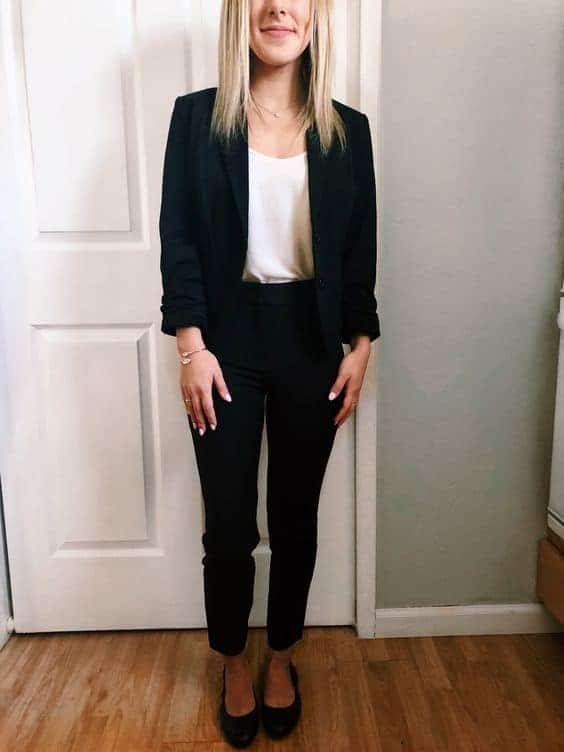 girl ready for job interview