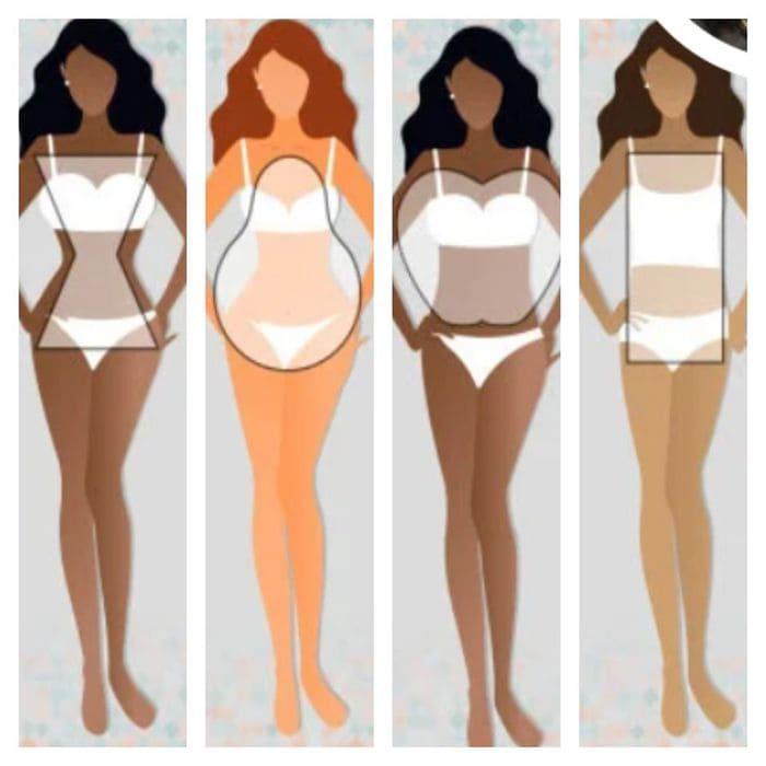 women body shapes, shapes wear
